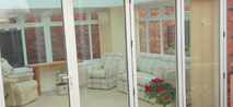 Conservatory door image for bi-folds link